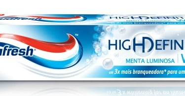 Aquafresh lança pasta branqueadora High Definition White