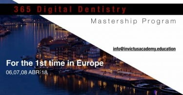 '365 Digital Dentistry Mastership Program' pela primeira vez na Europa